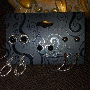 New 5 piece earring set